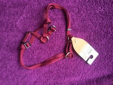 BNWT Small Red Dog Harness