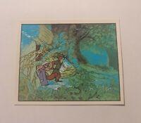 Panini Robin Hood 249 Walt Disney Productions Figurine Sticker 1982 82