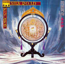 Silk Road-1980-Kitaro-Original Soundtrack-12 Track-CD Early WEST GERMAN Pressing