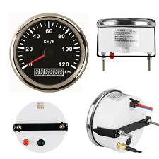 85mm GPS Speedometer Stainless Gauge 120KM/H Speed Car Truck 12V 24V Waterproof