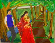 Into the Woods - Original Acrylic Painting/ Wall Art