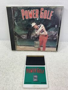 Power Golf (TurboGrafx-16, 1989) w Case Tested