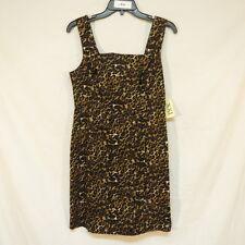 XXI Forever Animal Print Sleeveless Dress Size L