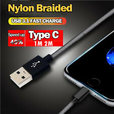 1M/2M Type-C USB Data Snyc Fast Charging Cable For Samsung S9 Xiaomi 8 Huawei LG