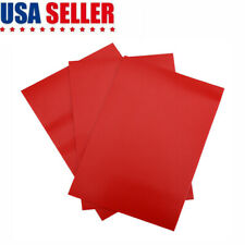 3pcs Pvc Puncture Repair Patches For Inflatable Boat Raft Canoe Kayak Red Us