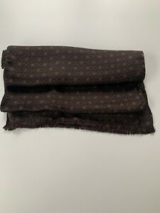 Paul Smith Men's Vintage Pattern 100% Silk SCARF 176cm X 30cm BNWT