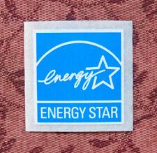 Energy Star Original Replacement Blue Sticker 19 x 19mm Case Badge Logo