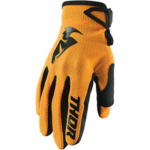 Thor Youth Sector Gloves Orange All Sizes
