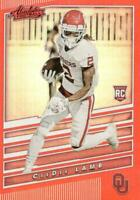 2020 Chronicles Absolute Red Parallel Ceedee Lamb Dallas Cowboys Rookie
