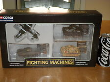 CORGI TOYS - WW# 2 ARMOR FIGHTING MACHINES (#4) ITEM BOX SET, Diecast Toys,1/80