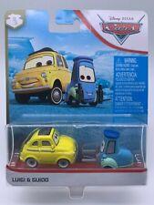 "Disney Pixar Cars Diecast Luigi & Guido Radiator Springs ""VHTF"""