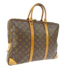 LOUIS VUITTON PORTE DOCUMENTS VOYAGE HAND BAG MONOGRAM ds M53361 A51950