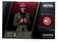 2019-20 Panini Prizm Cam Reddish Luck Of The Lottery rookie card Hawks