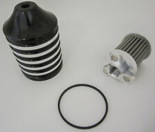 HardDrive Black Billet Reusable Oil Filter 820-55451