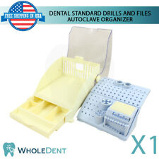 Autoclave Plastic Organizer Dental Standard Drills And Files Endodontic Tool