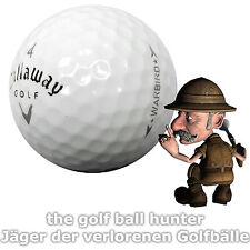 50 Callaway Warbird gebrauchte Golfbälle - Lakeballs in AAA - AA Qualität C-10