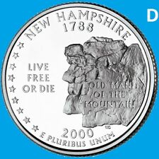 2000 P /& D UNCIRCULATED VIRGINIA STATE QUARTER SET IN COLORFUL VA STATE HOLDER