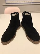 Vagabond Size 39 (6) Black Suede Ankle Boots With Wool Lining. Hardly Worn.