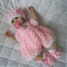 "Creative Dolls Designs Knitting pattern For 7-8"" Sculpt Berenguer Dolls"