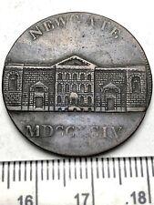 1794 Nice Grade Conder Token - Newgate Prison Halfpenny!!  Milled Edge (B224)