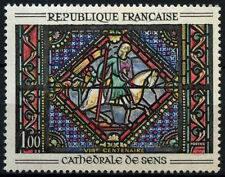 Francia 1965 SG#1683, 800th aniversario de Sens Catedral MH #D43319