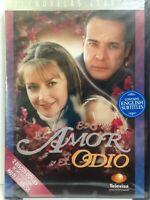 Entre el Amor y el Odio (DVD, 2006, 2-Disc Set) English Subtitles, Cut UPC, New