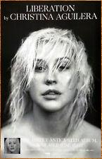 Christina Aguilera Liberation 2018 Ltd Ed New Rare Poster +Free Pop Rock Poster!