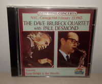 CD DAVE BRUBECK WITH PAUL DESMOND - NUOVO NEW