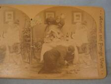 Stereoview Griffith & Griffith Where Is That Rat American & Foreign Views (O)
