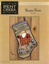 Santa Train Stocking by Bent Creek Cross Stitch Pattern