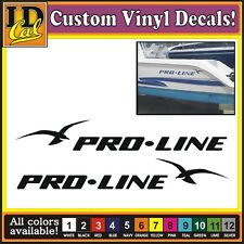 Boat Decals EBay - Boat decalsbayliner spectruminch pontoon boat decal set ofgreat
