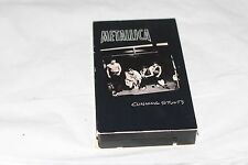 METALLICA VHS VIDEO CUNNING STUNTS VIDEO SET LIVE 1997