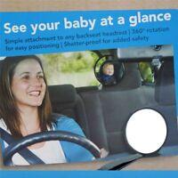 Pro voiture de sécurité arrière siège miroir vue arrière bébé enfant réglable HQ