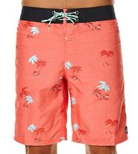 REEF Men's COAST Boardshorts - RED - Size 36 - NWT