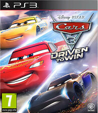 Cars 3: Driven To Win (PS3) BRAND NEW AND SEALED - IN STOCK - QUICK DISPATCH