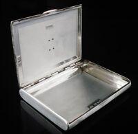 Quality Silver & Gold Card Case, London 1938, Goldsmiths & Silversmiths