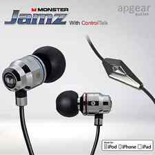 MONSTER Jamz con microfono in-ear Cuffie Auricolari iPhone Samsung