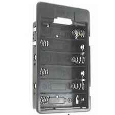 2 St Batteriehalter 6 x Mignon AA LR6 geschlossen Einbauversion