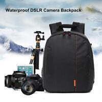 Étanche DSLR Caméra Photo Sac à Dos Housse Étui Voyage Pour Canon Nikon Sony