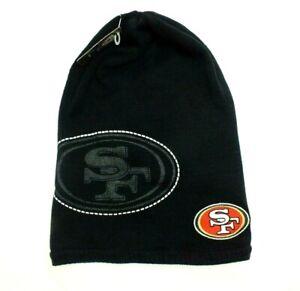 VTG San Francisco 49ers Toboggan Beanie NFL Knit Winter Hat One Size Reebok NEW