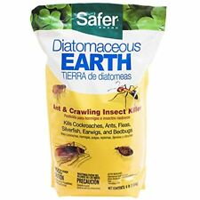 Diatomaceous Earth Bed Bug, Flea and Ant Crawling Insect Killer, 4 lb