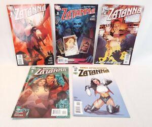 ☆ Zatanna Comic Lot Of 5  - #1 #3 #4 #5 #10 Dc Comics FREE SHIPPING