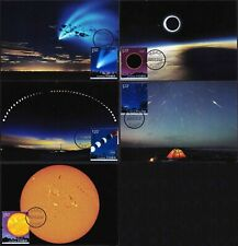 China 2020-16-21 Astronomical Phenomena 5X Maximum Postcard space Raumfahrt
