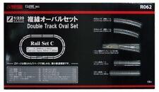 NEW Rokuhan Z gauge R062 rail set C double-track oval set