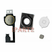 Home Menu Button Flex Cable + Key Cap assembly for Apple iPhone 4S (White)