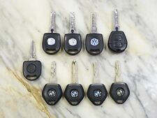 LOT OF 9  BMW VOLKSWAGEN  E36 Key w/ chip  ORIGINAL LIGHT OEM