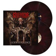 KREATOR - Gods of Violence 2 x LP RED & Black Vinyl 500 - NEW COPY Thrash Metal