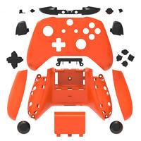 Orange & Schwarz Xbox One S X Controller Gehäuse Schale Hülle Mod Kit mit Knöpfe