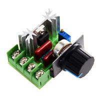 Regulador de voltaje de velocidad SCR 2000W AC 220V Z7J8