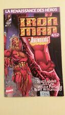 comics iron man la renaissance des héros n°4